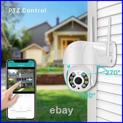 1080P IP Camera Outdoor WiFi PTZ CCTV Security Wireless Smart IR Cam 2-Way Audio