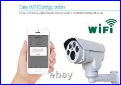 1080P Starlight 10X Zoom Outdoor Wireless IP PTZ Network Camera Support Audio
