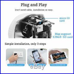 1080P WIFI POE MINI PTZ Wireless HD 2.0MP Outdoor CCTV Audio Security IP Camera