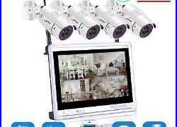 1080P Wireless 12 NVR P2P HD IR CUT Security IP Camera WIFI CCTV System Outdoor