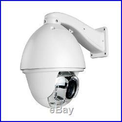 1200TVL Auto Tracking 30X Zoom PTZ Analog High Speed CCTV Security Camera 8IR