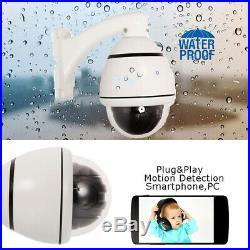 1200TVL CMOS HD 30X Zoom PTZ Camera Dome Dustproof Outdoor CCTV Camera PAL/NTSC