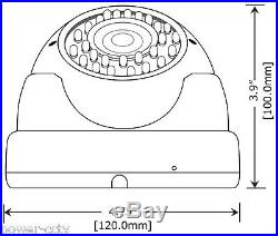 1800TVL 36IR 2.8-12mm Varifocal Surveillance Dome CCTV Security Camera SV368CZW