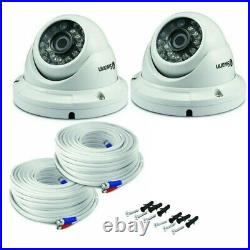 2xSwann PRO-T854 1080P HD CCTV Security Dome Cameras For DVR 4550 4750 1590 5000