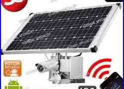 3G Security Camera Solar GSM Wireless Alarm System Farm Video CCTV Outdoor Phone