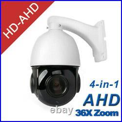 4.5'' 36X ZOOM 4in1 AHD/TVI/CVI/CVBS 1080P 2MP PTZ Speed Dome IR Camera Pan Tilt