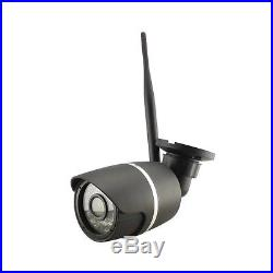 4CH 1080P HD Wireless WIFI IP Camera Outdoor NVR System CCTV Security Sony IMX