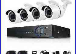 4CH AHD 4MP CCTV Camera Security System Outdoor IR Night Vision DVR Homeuse US