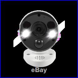 4K Thermal Sensing Spotlight Bullet IP Security Camera NHD-885MSFB