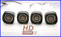 4X LOREX LBV2521-C 1080P HD Weatherproof Night Vision Security Cameras MPX HDCVI