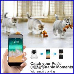 4x HD 1080P CCTV IP Camera WiFi Outdoor Security Night Vision PTZ Motion Alert