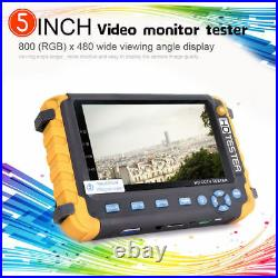 5MP 4-in-1 TVI/AHD/CVI/CVBS 5inch CCTV Security Camera Tester IV8W Support PTZ