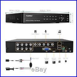6in1 Security Cloud DVR 8CH 1080p HDMI H. 264 Recorder CCTV Camera System IR-CUT