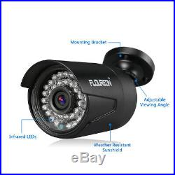 8CH 1080N AHD HDMI DVR Outdoor 3000TVL Video Home IR CCTV Security Camera System