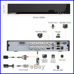 8CH 1080N DVR 4X HD 1080P Security Camera CCTV System Invisible IR Night Vision