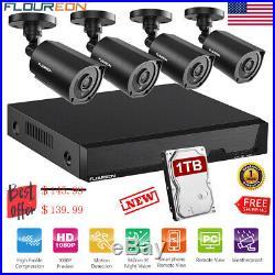 8CH 1080N DVR Security Camera System 5 IN 1 + 1080P CCTV Cameras IR Night Vision