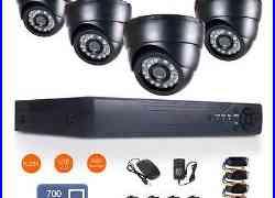 8CH 1080N HDMI DVR HD 700TVL Night Vision CCTV Video Home Security Camera System