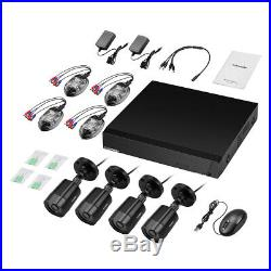 8CH 1080P CCTV DVR System HDMI Waterproof 3000TVL Camera Security IR Night Kit