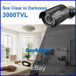8CH 1080P DVR In/Outdoor Security Camera System CCTV Video Surveillance Kit 1TB