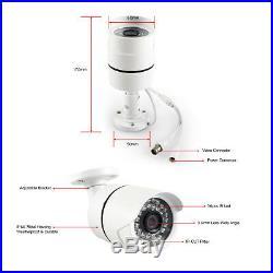 8CH AHD 1080P 2MP SONY CMOS HD 30X PTZ Camera CCTV Security Outdoor DVR System