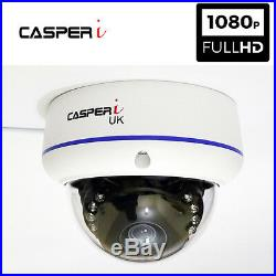 8CH CCTV Surveillance Kit HD DVR System with HD 1080P 2MP Dome Cameras Free Ship