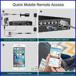8CH Security Camera System True HD 1080P Video DVR Recorder 1080P XV CCTV Camera