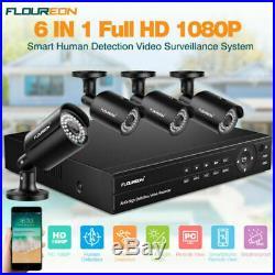 8CH True HD 1080P CCTV DVR IR Night Outdoor Home Video Security Camera System US