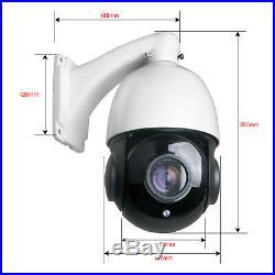 AHD 1080P 2MP PTZ Camera 30X Zoom Speed Dome Outdoor IR-CUT CCTV Surveillance US