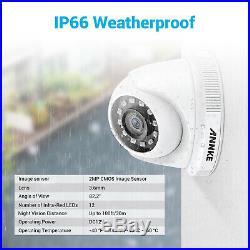 ANNKE 8CH 3MP HD H. 264+ DVR 1080p 2MP Starlight IR CCTV Security Camera System