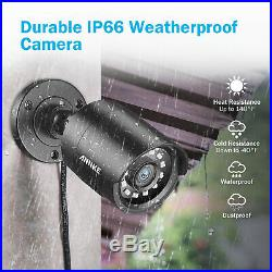 ANNKE CCTV 1080P Lite 5in1 8CH DVR 2MP IR Outdoor Security TVI Camera System 1TB