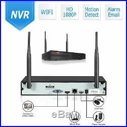 ANRAN 8CH 1080P Wireless CCTV Security Camera System Outdoor 2MP WiFi NVR Kit 1T
