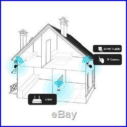 ANRAN Pan/Tilt CCTV Wireless Security Camera Waterproof 2way Audio 1080P Wifi IR