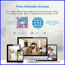 ANRAN Wifi 8CH CCTV Security Camera System Wireless NVR Outdoor 1080P 2TB HD Kit