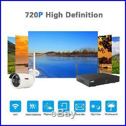 Anspo 4/8CH Wireless WiFi Security Camera System Night Vision CCTV System NVR
