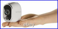 Arlo HD Smart Home Security CCTV Camera System Wireless Wi-Fi, Night Vision