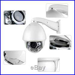 Auto Tracking 1200TVL 30X Zoom 200°/s High Speed Dome Analog Security PTZ Camera