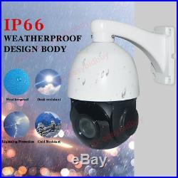 CCTV Security AHD 1080P Auto Tracking IR PTZ Camera High Speed Pan Tilt 30X ZOOM