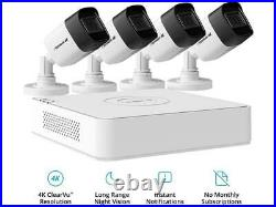 Defender Ultra HD 4K (8MP) Wired Security System with 4 Night Vision Cameras and