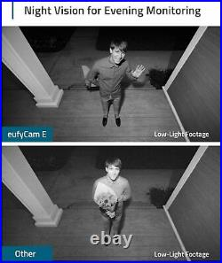 Eufy Security eufyCam E Wireless Home Security Camera System 3-Cam Kit 1080p