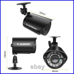 FLOUREON 4CH 1080N AHD DVR Outdoor 720P IP Camera Security KITS Motion Detection