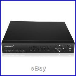 FLOUREON 8CH 1080N AHD DVR Outdoor 3000TVL 1080P Camera Home Security Kit CCTV