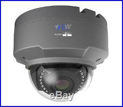 GW 8 Channel 4K DVR (4) 8MP CCTV Varifocal Zoom 4K Dome Security Camera System