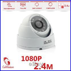 GoVision Home CCTV HD 2.4MP 1080P Night Vision Surveillance Security Cameras Kit