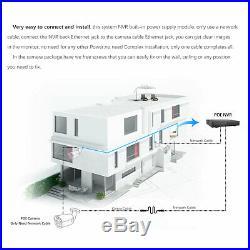 H. 265 6pcs 2MP1080P HD 48LEDs CCTV IP DOME Camera Net POE NVR Security system CN