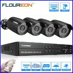 HD 1080N 8CH HDMI DVR 3000TVL IR Outdoor CCTV Home Motion Security Camera System