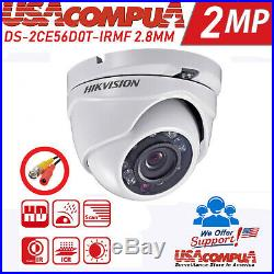 HIKVISION CCTV Security Camera System Kit 8CH Turbo HD DOME 1080P (CUSTOM)
