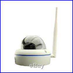 HJT 4CH Wireless IP Camera NVR System 720P CCTV Indoor Security HD Network P2P