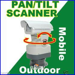 Heavy-Duty CCTV Outdoor Mobile Scanner 0-350°Pan & +/-60°Tilt Model#JA-PTS303SC