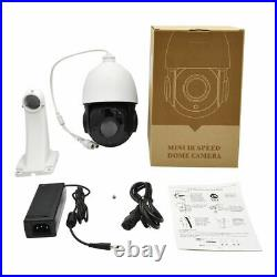 Hikvision Compatible 8MP PTZ IP Camera 18X Zoom Speed Dome POE IR H. 265 CCTV US