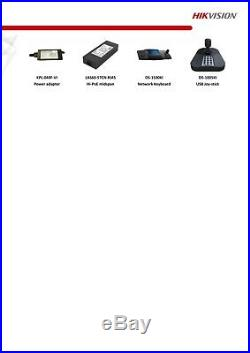 Hikvision Ip Poe 4mp Ptz 25x Optical Zoom Cctv Camera Automatic Smart Tracking